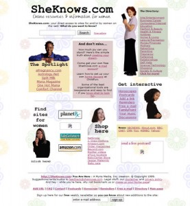 SheKnows.com launches (1999)