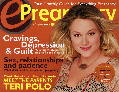 ePregnancy magazine: Celeb issues